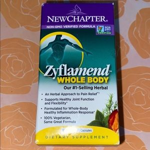 New Chapter Zyflamed Whole Body Pain Relief 30 ct